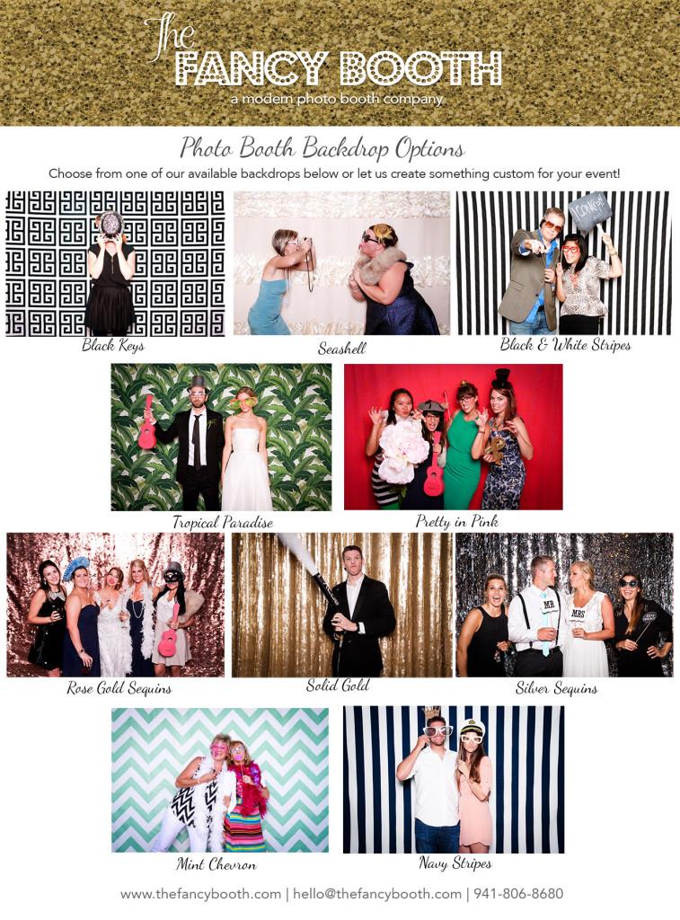 Sarasota photo booth, photo booth backdrops, Sequin photo backdrop, Modern photo booth, Florida photo booth, wedding photo booth