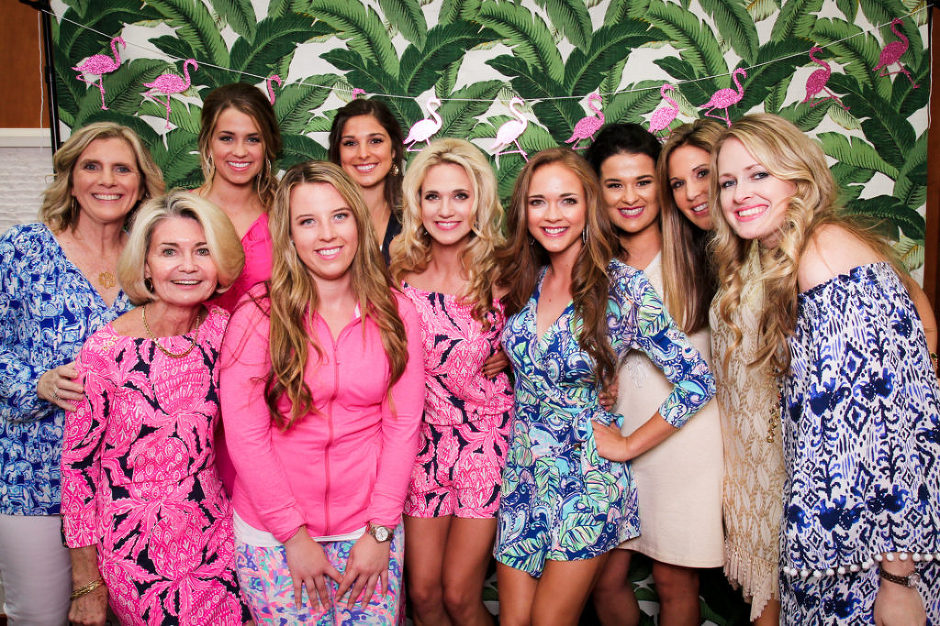 Lilly Pulitzer Wedding